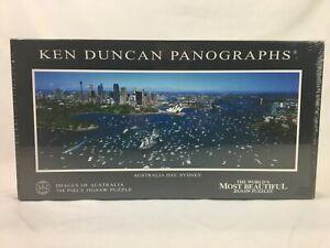 New - Ken Duncan Panographs - Australia Day Sydney - 748 Piece Jigsaw Puzzle