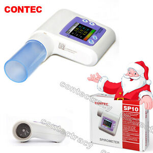 CONTEC Digital Peak Flow Meter respiratory lung Diagnostic Vitalograph,software