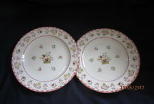 WEDGWOOD (WILLIAMSBURG) R4499 BIANCA  2 X SALAD DESSERT PLATES 21CM