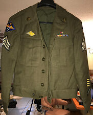 WWII 7th US AIR FORCE BOMBARDIER SHORT JACKET UNIFORM (NO PANTS)