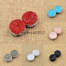 Muslim Magnetic Hijab Pin Shiny Crystal Vitrier Headscarf Brooch Clip Jewelery
