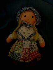 1974 Vintage Holly Hobbie doll 7 inch doll rag doll