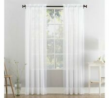 Luxury Drapery Sheer Voile Window Curtain Panel