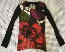 Desigual Long Sleeve Top Size S GUC