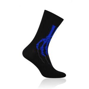 SKELETON Mens Coloured Socks, Colourful Socks, Fun Socks