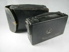 Cine Kodak Model B movie camera with leather case Eastman Kodak