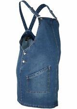 Damen Umstandskleid Jeans Latzkleid 298344 In Blue Stone 44