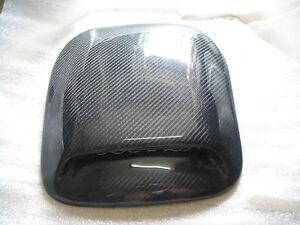 30CM*35CM Universal Carbon Fiber Roof Hood Bonnet Scoops Air Vents Type 002