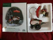 Department 56 Heritage Village Collection Lord & Taylor Flower Cart 1999 #2250
