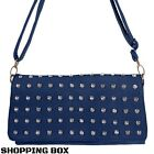 borsa borsetta POCHETTE donna ecopelle con tracolla removibile vari colori