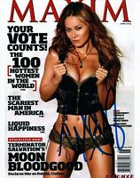Moon Bloodgood Signed Autographed 8x10 Photo Terminator Salvation Sexy COA VD