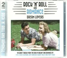 ROCK 'N' ROLL AND ROMANCE DREAM LOVERS - 2 CD SET THAT WILL BE THE DAY & MORE