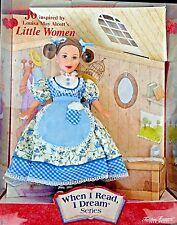 50723 LITTLE WOMEN JO When I Read I Dream Series Timeless Treasures Mattel NRFB
