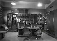 1957 Nevada Test Site Nuclear Bomb PHOTO Atomic Mission Control Room Consoles