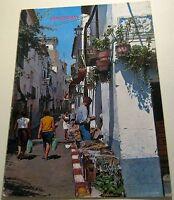 Spain Benidorm Calle Tipica 5 - posted 1970