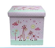 Fold Up Storage Box Little Sunshine New Baby Gift (Baby Girl Pink)