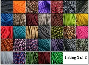 ***SALE*** Paracord 550, 7 strands - 25, 50 & 100 ft 111 COLOURS listing 1 of 2