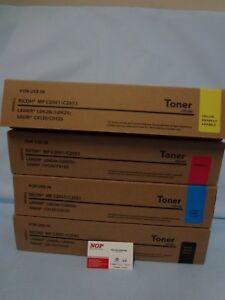 4 Toner Ricoh MP C2030 C2050 C2051 C2551 C2051 C2551 841500 841501 841502 841503