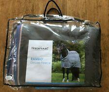 "New Horseware Rambo Deluxe Fleece Pony Cooler - 66"" - Grey - Anti Pill & Thick"