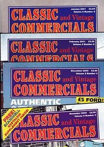 Various Issues of CLASSIC COMMERCIALS Magazine from 1996 to 2007