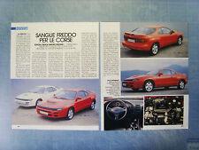 AUTO992-RITAGLIO/CLIPPING/NEWS-1992-TOYOTA CELICA LIMITED EDITION - 2 fogli