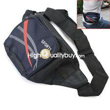 Multi-function Men Nylon Fanny Pack Waist Bag Travel Money Phone Storage Pocket