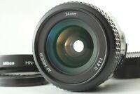 [Mint+++ w/ Hood] Nikon AF Nikkor 24mm f/2.8 D Wide Angle AF Lens Japan #577