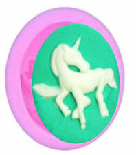 Unicorn Horse Mini Silicone Mold for Fondant, Chocolate, Crafts