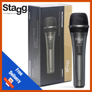 Stagg SDMP10 High Quality Wired Dynamic DJ Microphone With Cable