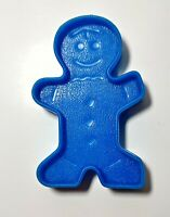 Vintage 1972 Mattel Christmas Cookie Cutter Gingerbread Man Double Sided USA