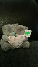 Me to you silver wedding soft plush with tag