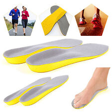 Orthopedic Trainer Foot Feet Comfort Heel Memory Foam Unisex Shoe Insoles UK 5-8