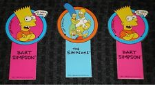 The Simpsons Bart Simpson & The Simpson Family Bookmarks: 1990's