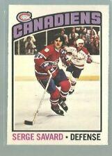 1976-77 O-Pee-Chee #205 Serge Savard NM (ref 83186)