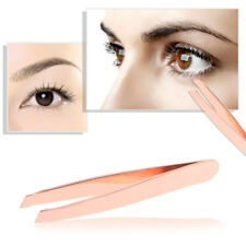 Stainless Steel Women Eyebrow Tweezers Hair Beauty Slanted Tweezer Professional
