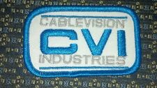 CABLEVISION INDUSTRIES CVI (CABLE TV) Iron or Sew-On Patch