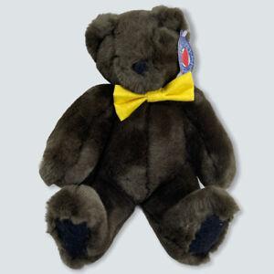 Vermont Teddy Bear MAKE A FRIEND FOR LIFE CHOCOLATE BROWN TEDDY BEAR New VTBC