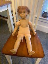 "26"" Doll Artist Doll Annette Himstedt Liliane Faces Of Friendship Undressed."