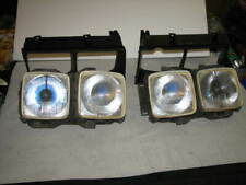 FORD ZK V8 FAIRLANE GHIA HEADLIGHT ASSEMBLY'S