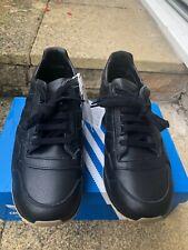 ADIDAS ZX500 OG - BLACK LEATHER - GUM SOLE - UK8