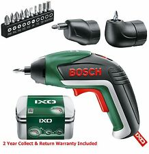 FULL Set-Bosch IXO 5 Lithium Ion Cordless Cacciavite 06039A8072 3165140800051 A