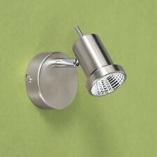 WOFI LED Applique murale Hoorn 1-FLG nickel Spot Réglable 5 WATT 400 LUMEN