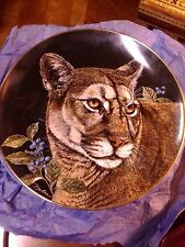 Fine Bone China, Collector Plate, Mountain Monarch, Royal Doulton
