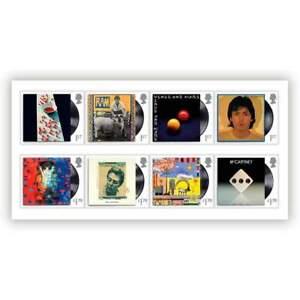 Paul McCartney Beatles Stamp Set Royal Mail Postage Stamps