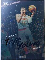2018-19 Panini Chronicles Luminance Trae Young Rookie RC #139, Atlanta Hawks