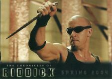 The Chronicles Of Riddick 2004 Promo Card Nm/M! P2 Rittenhouse Vin Diesel