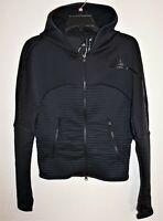 Adidas Z.N.E. COLD.RDY Athletics Hoodie Track Jacket Womens Sz XS Black NWT $120
