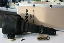 Nikon Ai-s Nikkor 600mm F4 ED IF in Mint Condition With Lens Case CT-602