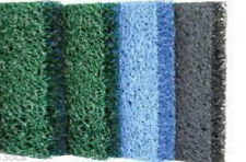 "Matala Four-Pack-3 Color Pond Filter Media 12""x12""-2 Green/ 1 Blue/ 1 Gray- pads"