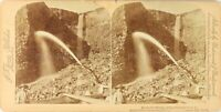 USA Colorado Mine d'Or Minage Hydraulique, Photo Stereo Vintage Albumine PL62L3